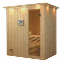 two person used sauna room