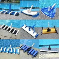 Deluxe Triangular Transparent Weighted Swimming po...