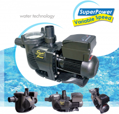 SUPERPOWER VARIABLE SPEED PUMP for swimming pool