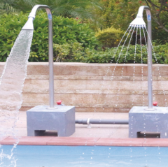 swimming pool massage impact spa equipment, outdoor used spa equipment with nozzles