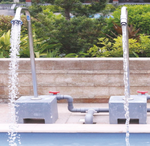 304# stainless steel material swimming pool massage impact spa equipment, outdoor used spa equipment with nozzles
